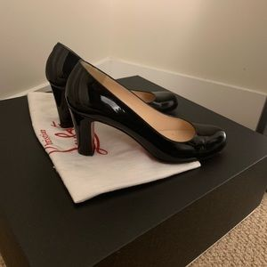 uk store authorized site sneakers for cheap Christian Louboutin Shoes | Lady Gena 85 Mm | Poshmark